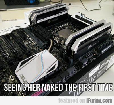 Seeing Her Naked The First Time...