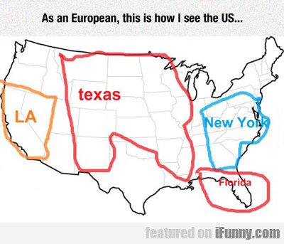 As A European, This Is How I See The Usa...