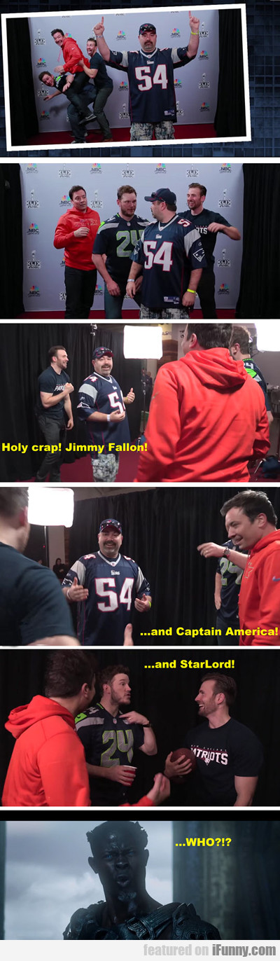 Holy Crap! Jimmy Fallon!
