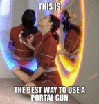 This Is The Best Way To Use A Portal Gun...