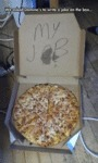 We Asked Domino's To Write A Joke On The Box...