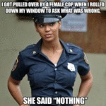 I Got Pulled Over By A Female Cop...