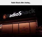 Radio Shack After Closing...