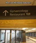 Mmm, Love That Hospital Restaurant...