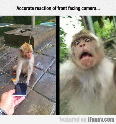 Accurate Reaction To Front Facing Camera...