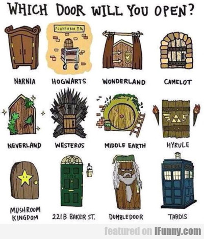 Which Door Will You Open.