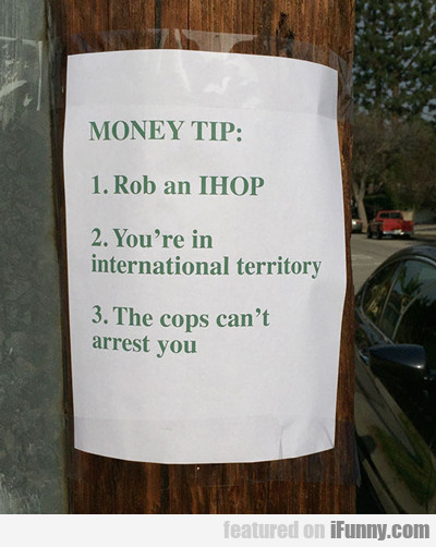 Money Tip...