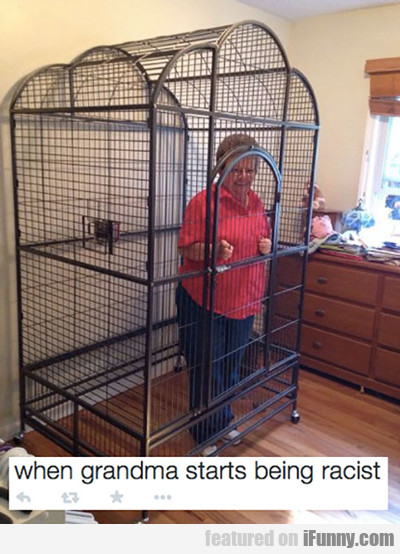When Grandma Starts Being Racist...