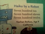 Haiku By A Robot...