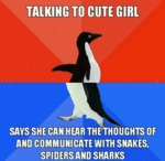 Talking To A Cute Girl...