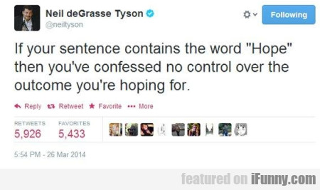 if your sentence contains the word