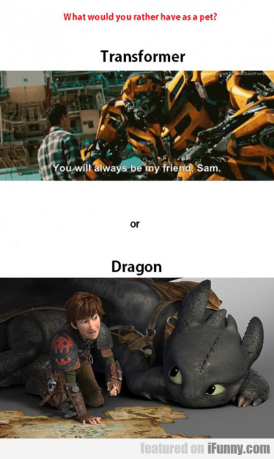 What Would You Rather Have As A Pet?