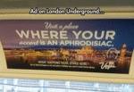 Ad On London Underground...