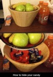 How To Hide Your Candy...