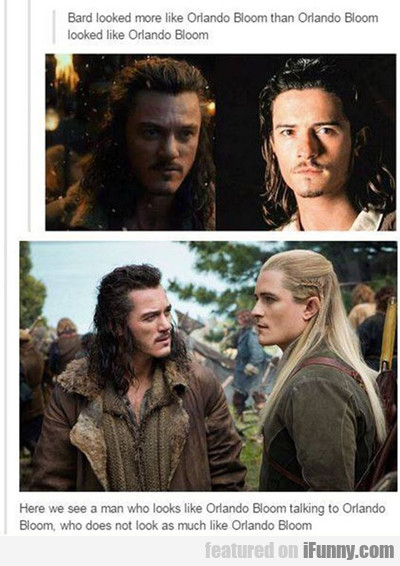 Bard Looked Like Orlando Bloom...