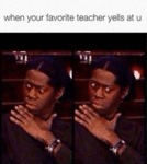 When Your Favorite Teacher