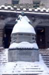 The Snow Makes It Look Like Queen Victoria Is...