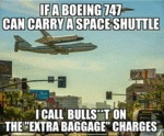 If A Boeing 747 Can Carry...