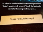 At A Bar In Seattle...