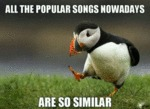 All Popular Songs Nowadays...