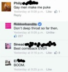 Gay Men Make Me Puke...