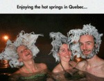 Enjoying The Hot Springs...
