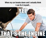 When My Car Breaks Down...