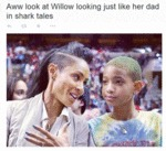 Awww Look At Willow Looking Just Like Her Dad...