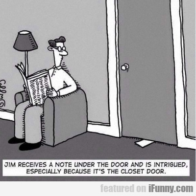 Jim Receives A Note Under The Door And Is...