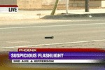 Suspicious Flashlight...