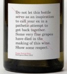 Do Not Let This Bottle Serve As An Inspiration..