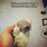 This Is A Perfect Cube Of Pyrite...