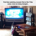 First Time Watching Jurassic Park.
