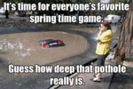 It's Time For Everyone's Favorite Spring Time Game