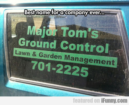 Best Name For A Company Ever...