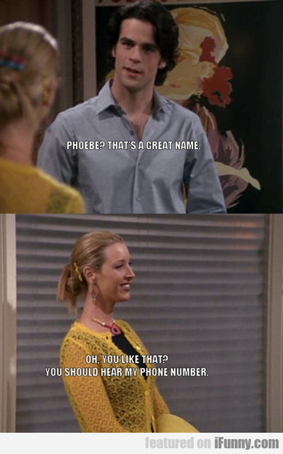 phoebe? that's a great name...