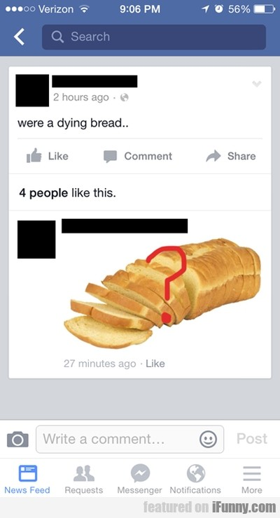 Were A Dying Bread