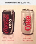 Thanks For Clearing That Up Coca Cola...