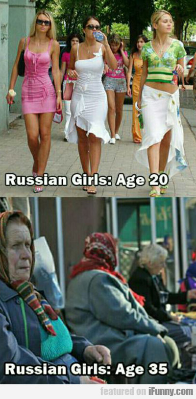 Russian Girls: Age 20...