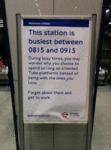 The Station Is Busiest Between...