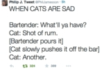 When Cats Are Sad.