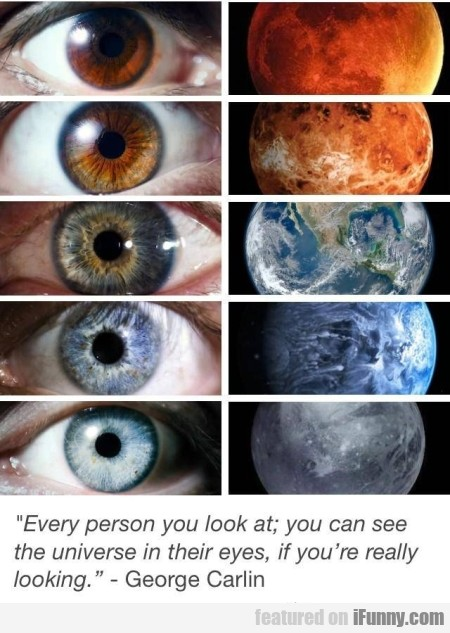 Every Person You Look At You Can See