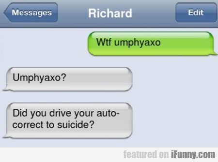 Wtf Umphyaxo. Did You Drive Your...