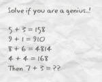 Solve If You Are A Genius..!