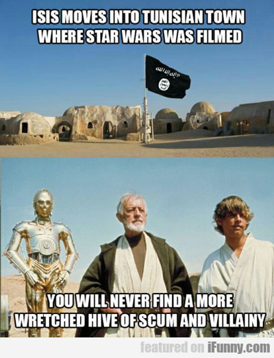 Isis Moves Into A Tunisian Town...