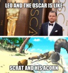 Leo And The Oscar Is Like...