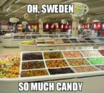 Oh, Sweden, So Much Candy...