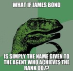 What If James Bond...