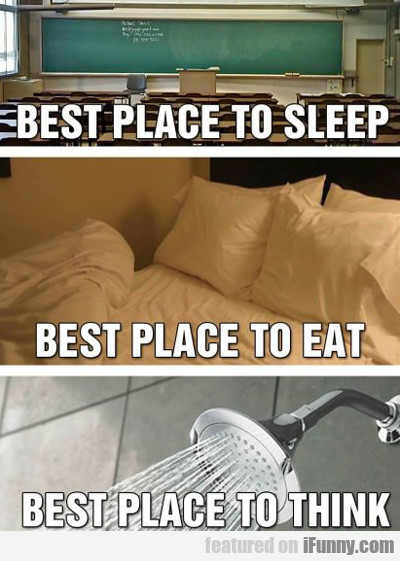 Best Place To Sleep...