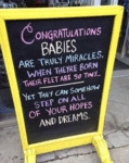 Congratulations Babies Are Truly Miracles.